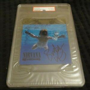 Butch Vig signed autographed psa slabbed CD Booklet produced Nirvana Nevermind