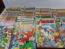 30- The Avengers Comics Lot 32