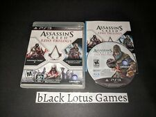 Assassin's Creed Ezio Trilogy PS3 Complete PlayStation 3 Brotherhood Revelations