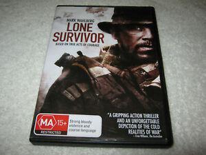 Lone Survivor - Mark Wahlberg - VGC - DVD - R4
