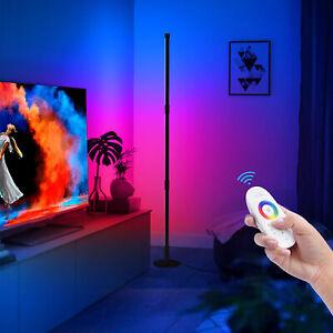 LED RGB Stehleuchte Stehlampe Dimmbar Standlampe Deckenfluter Fernbedienung 20W