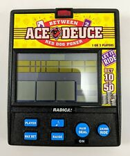 Radica Between Ace Duece Red Dog Poker Electronic Hand Held LCD Game