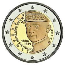 Slowakije 2 euro 2019 Milan Rastislav Stefanik UNC coin Slovakia