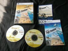 MICROSOFT FLIGHT SIMULATOR X DELUXE EDITION. FSX V.G.C.