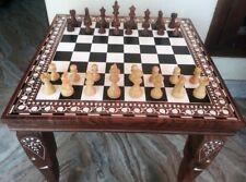 Black Chess Schachtisch Verwandlungs-Spieltisch G679 Spieltisch Braun/Schwarz