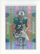 2008 Select Inscriptions #331 Jake Long Rookie AUTOGRAPH Dolphins /375