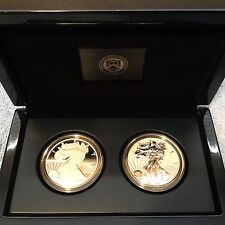 2012 S US Mint 75th Anniversary American Eagle Silver Set. With Box and COA