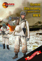 Mars Figures 32014 German Elite Infantry (winter dress) (WWII) (15 figures) 1/32