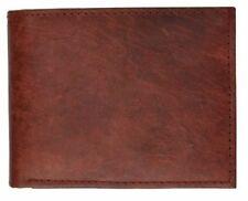 Marshals Burgundy Premium Leather Quality Bifold Style #52CF Wallet