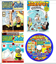 Shiver & Shake 49 issues & Jackpot 22 issues British Comics on DVD in pdf format