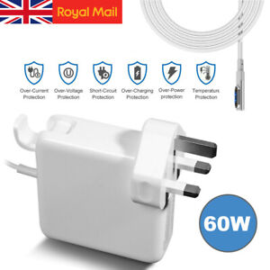 60W Adapter Power Charger for Macbook Pro Air L-Tip 11&13 Mag Safe 1 AC  Plug