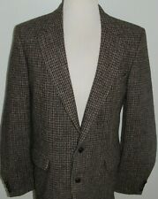 New listing Vintage Harris Tweed 42L Sport Coat Blazer 2 Button Scottish Wool