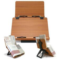 [Jasmine Plus] Book Stand Bible Wooden Reading Holder Desk Bookstand Wiztem