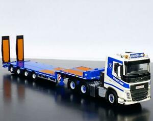 "Volvo FH4 sleeper cab lowloader with ramps ""Stangeland""WSI truck models 01-2734"