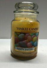 NEW 22 oz. Yankee Candle - HAPPY EASTER - Large Retired Housewarmer