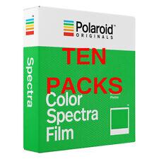 TEN PACKS Polaroid Originals IMAGE SPECTRA Colour Instant Films **IN STOCK **