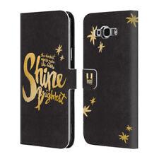 Fundas y carcasas brillantes de color principal oro para teléfonos móviles y PDAs Samsung