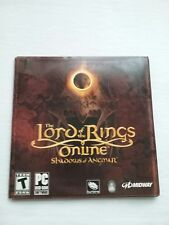 Lord of the Rings Online: Shadows Of Angmar PC DVD ROM Game(2007)