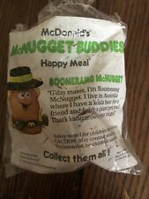"""McDonald's McNugget Buddies  """"Boomerang McNugget""""  Open Package From 1988"""