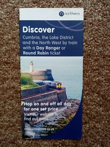 NORTHERN RAIL 2016 CUMBRIA LAKE DISTRICT AND NORTH WEST RAIL ROVERS GUIDE