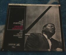 OSCAR PETERSON TRIO A JAZZ PORTRAIT OF SINATRA UK LP HMV / VERVE CLP 1355