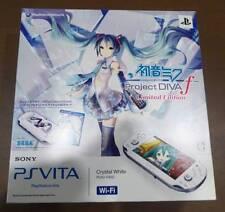 New Hatsune Miku Limited Edition PS Vita Console Japan PCHJ-10002 Rare