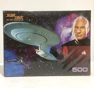 Vintage STAR TREK The Next Generation Jigsaw Puzzle 500 Pieces 1995 - New Sealed