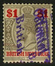 """British Honduras  1913-17   Scott # 82  USED - """"British Colonial"""""""