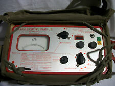 Contatore Geiger Militare con Borsa TTL 6607 strahlenspürgerät-üb Militaria