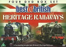 BEST OF BRITISH HERITAGE RAILWAYS - 4 DVD BOX SET - VOLUMES 1 - 4