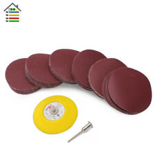 61pc/set 3 inch 80-600 Multi Grit Sanding Disk Sandpaper For Dremel Accessories