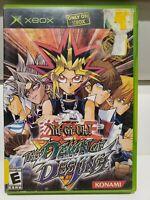 Yu-Gi-Oh The Dawn of Destiny (Microsoft Xbox, 2004)