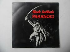 "Black Sabbath - Paranoid 7"" Vinyl Record"