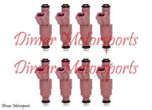 7.4L V8 24lb 24# Genuine BOSCH Performance Fuel Injector Set -  4-Hole Upgrade