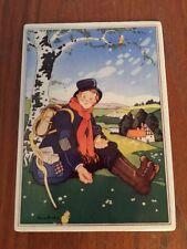 Villeroy Boch VILBO Card FOR HIM Ann Heseler Porcelain Art WEST GERMANY