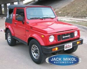 1987 1988 1989 1990 1991 1992 1993 1994 Suzuki Samurai Replacement Soft Top