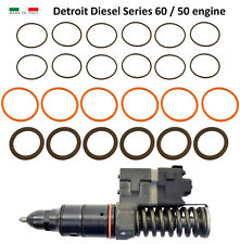 Injector O-Ring Seal Kit for Detroit Series 60 & 50 Ref # 5234702 23511870 6 set