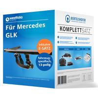 Für MERCEDES GLK Typ X204 06.2008-11.2015 AHK abn +13pol spez E-Satz NEU TOP