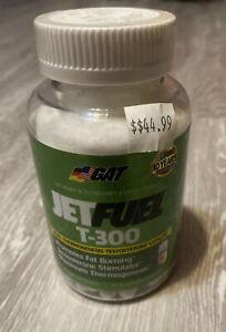 GAT Jetfuel T-300 Dual Thermogenesis-Testosterone Catalyst 90 Capsules EXP 7/18