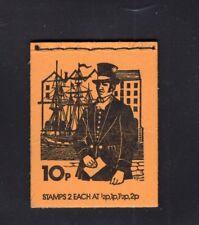 Great Britain 10p Pillar Box Machin Booklet April 1975 Dn71