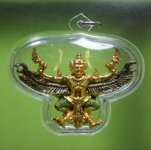 PERFECT! OLD AMULET GARUDA WEALTH FOR PROTECT VERY RARE FROM SIAM !!!