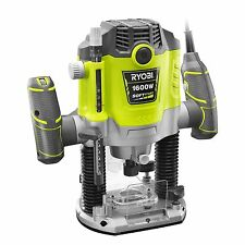 Ryobi Corded Powerful 1600W Plunge Router