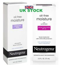 Neutrogena Oil-Free ultra gentle Facial Moisturizer with spf 35/sensitive skin