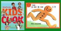 Cooking Set - 2 Books: Betty Crocker's Kids Cook & The Gingerbread Boy