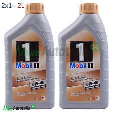PREISHIT!!! 2 Liter (1L+1L) MOBIL 1 FS 0W-40 NEW LIFE MOTORÖL MOTORENÖL 2L NEU