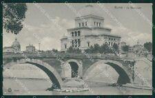 Roma Città Sinagoga SCOLLATA cartolina QT2042