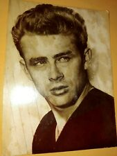 6 Antique 1950s James Dean postcards. 1 is damaged as seen in photo