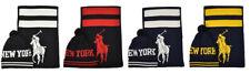 Ralph Lauren Polo New York Big Pony Beanie Hat & Scarf Set New