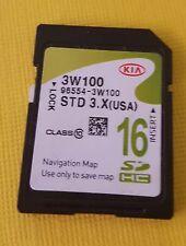 96554-3W100  2014 2015 KIA Sportage Navigation SD Card 96554 3W100