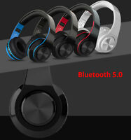 Over-Ear Headphone Hi-Fi Bluetooth Wireless/Wired for PC/TV/Gaming/Phone/Music